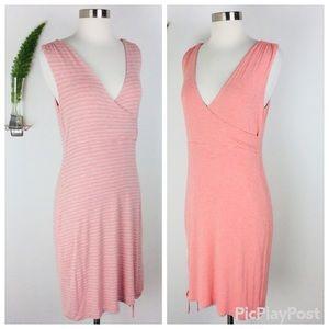 Athleta Gorgeous Reversible Wrap Dress Size (S)